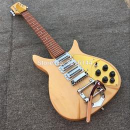 private aktiengitarren Rabatt Fabrik Produkt Ricken-Backer 325 E-Gitarre 3 Stück Pick-up, echte Fotos, kostenloser Versand Massivholz, Gitarre, Goldplatte