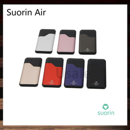 Wholesale Vaping Kits - Suorin Air Kit all-in-one Aio Vaping Kit With 2ml Cartridge 400mah Battery on-off Switch Design 7 Colors In Stock 100% Original