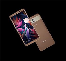 Wholesale New 4g Phones - new 5.5 inch Huawei mate 10 Max Clone Octa core 4G phone 4G ram 32G rom Mobile Phone unlocked Dual sim card Fake 3g GPS android 6.0 phone