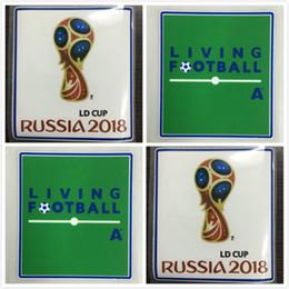 Patchs mondiaux en Ligne-Russie 2018 Coupe du Monde Patches 2018 Coupe du Monde Russie Patches de Football pour les 32 dernières équipes Allemagne Espagne Argentine Colombie Patches 2018