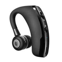 V9 Bluetooth наушники Handsfree бизнес беспроводные наушники с микрофоном голосовое управление гарнитура для привода шумоподавления для мобильного телефона от