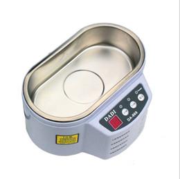 Embalaje original Limpiador ultrasónico 600 ml Control inteligente 30W / 50W Digital Mini limpiador ultrasónico Baño Joyería Escáner de limpieza de vidrios desde fabricantes
