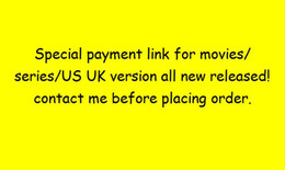 Blank Disks DVD special link for extra payment   Down Payment of movie serie Electronic   payper case plz contact seller before paying
