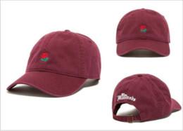 Canada Rose exclusif Patern hommes et femmes casquettes de baseball pour les sports de plein air Snapbacks Custom Made marque chapeaux réglable Golf Baseball Hat cheap adjustable hats for men Offre