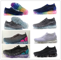 Wholesale Tpu Sports Shoes - 2018 v2 betrue Vapormax 2 TPU Vapor maxs Mens Women Running Sneakers Fashion Athletic Sport Shoe Hot Corss Hiking Jogging Walking Shoes