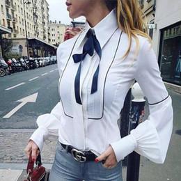 Camicia Cravatta Donna Bianca Da Con ChQxtsrd