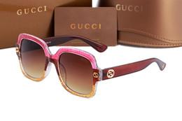 Wholesale big eyeglasses frames - 2018 New italy brand logo 0086 bee sunglasses 3mix color fashion show style big square sun glasses women classic shade driving eyeglasses