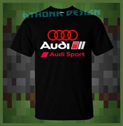 marca v6 Desconto S4 3.0 V6 T-shirt QUESTRO S-Line RS4 Esporte T-Shirt dos homens 2018 Nova Moda T shirt Marca Hip Hop Impressão Dos Homens Camiseta