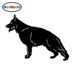 Camion tedeschi online-Autoadesivi dell'automobile del cane del pastore tedesco all'ingrosso Personality Vinyl Decal Car Styling Truck Accessories