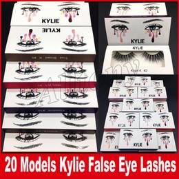 Wholesale Long Black Hair Extensions - kylie False Eyelashes 20types Eyelash Extensions handmade Fake Lashes Voluminous Fake Eyelashes For Eye Lashes Makeup