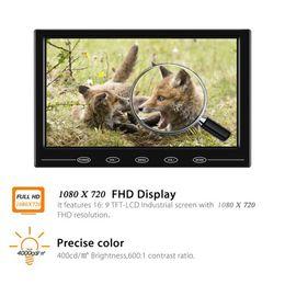 """televisores do painel do carro Desconto 9 """"HD TFT LCD Cor 1080x720 HDMI Monitor Do Carro Portátil Mini Tela de Vídeo Suporte VGA BNC AV Entrada Para PC CCTV Home Security"""