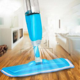 Wholesale Plastic Spray Cleaner - New new Water Spray Squeeze Magic Mops Floor Cleaning Multifunctional Aluminium Pole Microfiber Mop Household Cleaning Tools