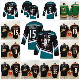 suzuki stocks UK - Anaheim Ducks #15 Ryan Getzlaf 2018-2019 Season 10 Corey Perry 17 Ryan Kesler Jersey 100% Stitched Name & Nnumber & Logos IN STOCK