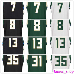 Wholesale black makers - 2017 New Screen Printed 13 Malcolm Brogdon Jersey 7 Thon Maker 8 Matthew Dellavedova 21 Tony Snell 31 John Henson Basketball Jerseys
