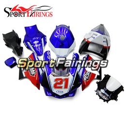 Wholesale yamaha race fairings - Fibergalss Racing Fairings Kit For Yamaha YZF1000 YZF R1 15 16 2015 2016 ABS Fairings Motorcycle Covers Cowlings Bodywork Blue Red Black New
