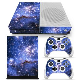 Wholesale One Skin - Starry Protective Decals For Microsoft xbox one S Console and 2 Controllers Cover Skin Stickers