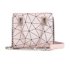 sacos das senhoras do diamante Desconto Novas mulheres cadeia bolsas senhora Diamante Treliça crossbody messenger bags moda feminina casual à noite bolsas 5 cores no899