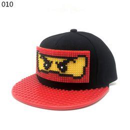 Neue Puzzle Spiele Blöcke DIY Legos Baseball Hut Bob Marley Hüte Jamaican Rasta Stil Snapback Hut für Männer und Frauen abnehmbar von Fabrikanten