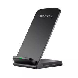 2019 caricatore del telefono di apple iphone 4s Per il caricabatterie wireless XS XR X 8 Qi per iPhone XS Max Fast Charger per Samsung S9 S8 S7 Fast Wireless Charging Stand