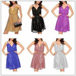084a7edf7c7 6 цветов сексуальные элегантные женские спинки блестками платье дамы без  рукавов блестками платье вечернее платье выпускного вечера CCA8985 30 шт.  вечерние ...