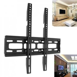 Wholesale monitor instrument - 50KG TV Wall Mount Bracket Fixed Flat Panel TV Frame with Level Instrument for 26-65 Inch LCD LED Monitor Flat Panel Bracket