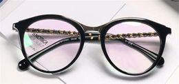 Canada Classique femmes style simple lunettes optiques oeil de chat cadre de conception lentille transparente populaire de la mode claire lunettes 3349 cheap eye clear Offre