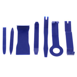Wholesale Panel Removal Tool - 7Pcs New Arrivals!!! Car Interior Exterior Dash Moulding Trim Audio GPS Door Panel Open Removal Tool