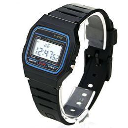 Wholesale watches led kids - 1pcs LED Digital Electronic Multifunction Child Kids Boy's Girl's Watch