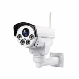 Wi fi ptz caméras en Ligne-Caméra IP 4G PTZ Wifi extérieure Carte SIM Caméra P2P Support Micro Storage Wi-Fi Zoom Objectif 5X Caméras CCTV