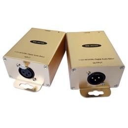 Equilibrio audio online-Convertitore audio digitale bilanciato AES / EBU a convertitore RJ45 Cat5 Digital AES / EBU Audio a Cat5 audio digitale bilanciato a Cat5