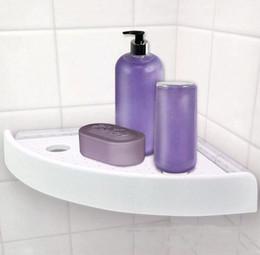 Wholesale Metal Bathroom Shelf Rack - SnapUp Shelf Corner Add Storage To Any Corner In The House Multi-function bathroom rack shelf wall mounted corner shelf 30Pcs