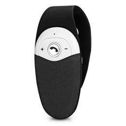 Автомобильный Bluetooth Kit V4.0 + EDR громкой связи с динамик микрофон ответ на вызов голосовая подсказка для iPhone / Android телефон от