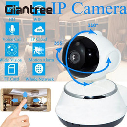 Wholesale camera alarm systems - giantree HD WiFi Wireless Baby Monitor 1 million pixels IP Camera Smart Night Vision Infrared CCTV Alarm Home Security System