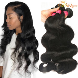 wet wavy hair 22 inches Coupons - Brazillian Virgin Hair Body Wave 3 4 Bundles Brazilian Body Wave Grade 8A Brazilian Human Hair Extensions Wet And Wavy Brazilian Hair Bundle