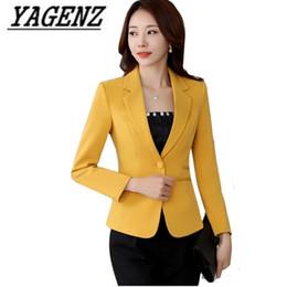 e4f786810e1a 2018 Spring New Short Suit Business Women Blazer Jackets Korean Slim Long  sleeve Female Blazer Plus size Office Ladies Suit 4XL
