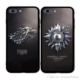 2019 spiel throne telefon fällen Game thrones daenerys dragon jon schnee tyrion lannister soft phone case fundas für iphone 7 7 plus 6 6 s 6 plus 5 8 8 plus x günstig spiel throne telefon fällen