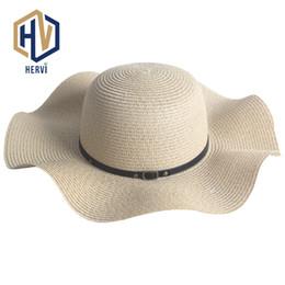 2019 sombreros de paja al por mayor Top Brand Dropshipping Moda Mujeres  Elegantes Sombrero de Verano 9d33ed8f5cd