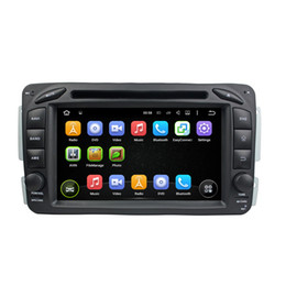 Wholesale Car Radio Double Din Android - double Din Android car dvd GPS Radio For Benz ML W163 2002-2005 with bluetooth GPS Navigation Radio MP3 USB AUX DVR WiFi Stere Video Canbus