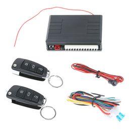 Canada Système d'alarme universel de voiture Kit central à distance automatique Verrouillage de la porte Système d'entrée sans clé Système de verrouillage central avec télécommande supplier central door Offre