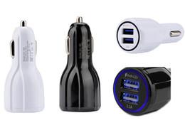 12-вольтовый автомобильный адаптер Скидка QC 3.0 Быстрая зарядка 3.1A Быстрая зарядка Автомобильное зарядное устройство Dual USB Быстрая зарядка Зарядка для телефона Зарядное устройство для iPhone Samsung Galaxy S8