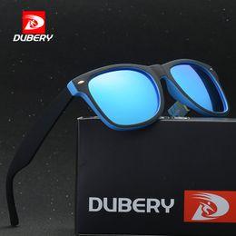 f7ccfa71538dc6 volle hd sonnenbrille Rabatt DUBERY Brand Design Polarized Sunglasses Men  Black Shades Perfekt für alle HD