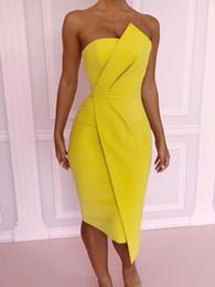 2019 sopra il collare del vestito dall'abito 2018 Estate nuova moda per il tempo libero Donne sexy elegante vestito aderente femminile off spalla sorprendente Pieghevole anteriore vestito da partito asimmetrico