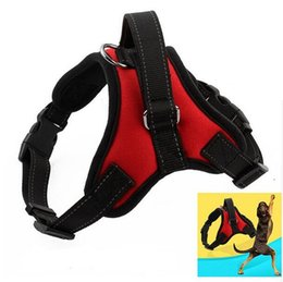 Wholesale Dogs Clothes Harness - Petalk New Dog Harness for Medium Large Dogs Reflective Padded Working Outdoor Harness Pet Dog Clothes