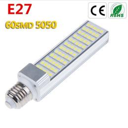 Wholesale E27 Pl - PLC LED Light 12W Bulb PL E27 G24 G24d Lamp Bombillas Corn Light 5050 SMD AC85-265v Equal 120W Halogen Lamp