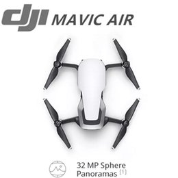 Wholesale Panorama Cameras - New Style DJI MAVIC AIR Fly More Comb & DJI Glggles 32 MP Sphere Panoramas 3-Axis Gimbal & 4K Camera Foldable & Portable 3-Directional Envir