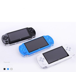 2019 romantik curl haare X6 8GB 4.3inch 32Bit Videospielkonsole kann Handspielkonsolen Mini Pocket Portable Game Players DHL speichern