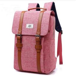старинные сумки в колледже Скидка Винтаж ноутбук рюкзак повседневная школа колледж сумка Спорт на открытом воздухе рюкзак Туризм Путешествия рюкзак рвать устойчивостью рюкзаки для под