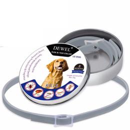 Wholesale flea collars - Pet Dog Collar Anti Flea Ticks Mosquitoes Waterproof Herbal Pet Collar Outdoor Protective Adjustable Collar DDA662
