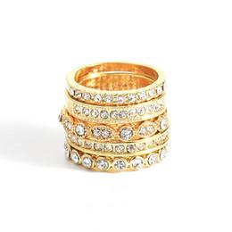 meninas ouro dedo anel de moda Desconto Todos os tipos anéis de dedo de prata do ouro, meninas da forma formam acessórios da jóia do cristal de rocha