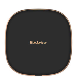 Wireless c online-10W Quick Charge Blackview W1 Wireless Charging Pad Type-C USB antiscivolo Superficie Fast Charger per iPhone Pro 11 Max XS Galaxy note10 + S10 +